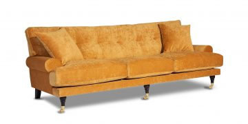 Andrea tree-seater sofa Mustard 1