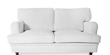 Lady two-seater sofa White